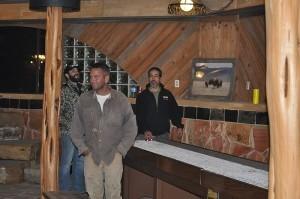 Bison Hunt - at the lodge
