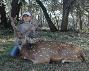 Axis Deer Hunts - First Axis