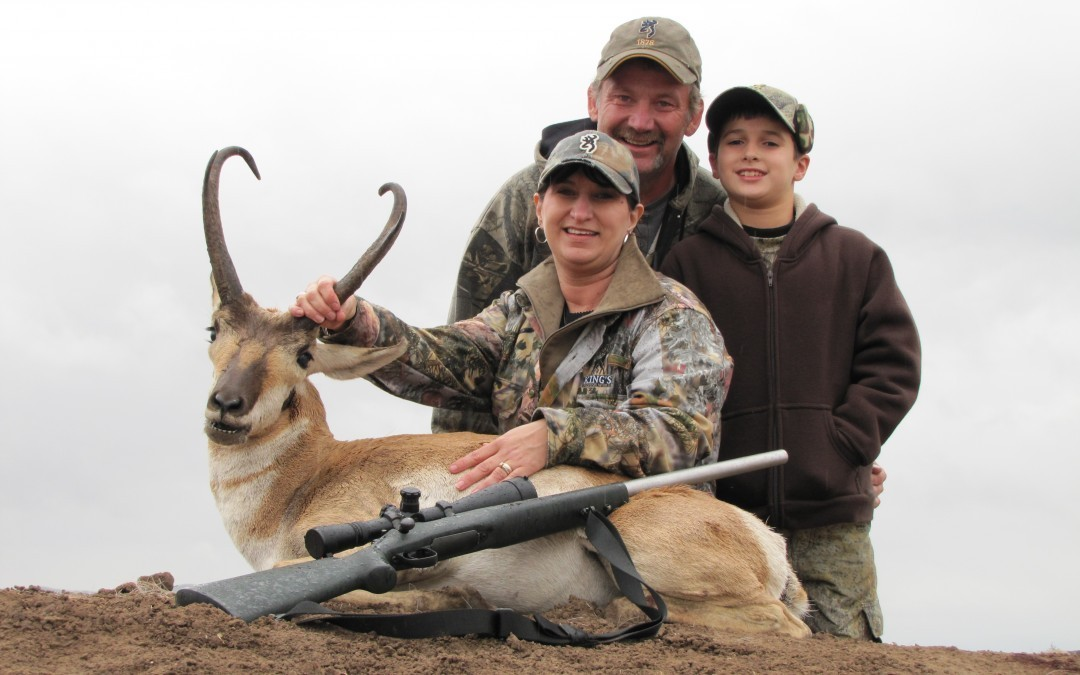 Pronghorn Season Texas