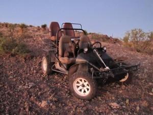 Aoudad Hunting - Dune Buggy