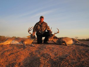 Texas Deer Hunting - Doubling up