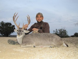 Texas Whitetail Deer Hunting - First buck of the hunt