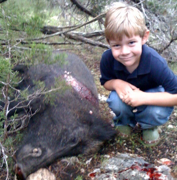 Wild Hog Hunting – Get Them Started Young!!